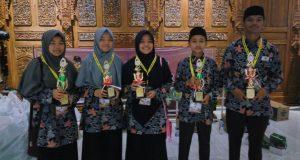 Wakili Aceh, Lima Santri Dayah Insan Qur'ani Raih Juara MQK Nasional