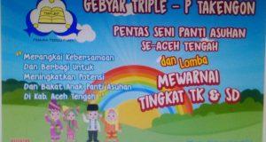 Besok, Triple-P Gelar Pentas Seni Panti Asuhan Se-Aceh Tengah