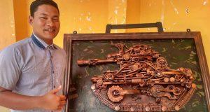 Mahasiswa STAIN GP Rakit Instalasi French Tank Menggunakan Barang Bekas