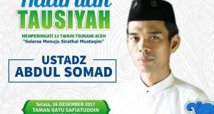 Ditolak di Hongkong, Masyarakat Aceh Sambut Ustadz Abdul Somad