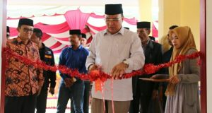 Balai Pertemuan Pengawas dan Guru Disdik Aceh Tengah Diresmikan