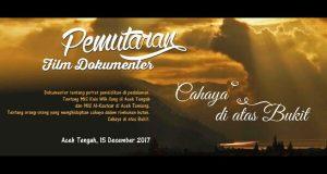 Kemenag Aceh Gelar Nonton Bareng Film Cahaya di Atas Bukit di GOS Takengon