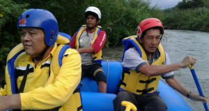 Sekda Minta Pengelola Wisata Arung Jeram Aceh Tengah Tingkatkan Profesionalisme