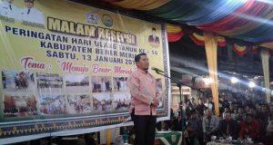 Agar Dinikmati Rakyat, Resepsi HUT ke-14 BM Dipusatkan di Pasar Simpang Tiga