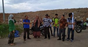 Relawan ZWA Belajar Pengelolaan Sampah ke TPA Kampung Jawa