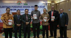Perngurus Arsada Dilantik, Ini Kata Wagub Aceh