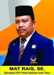 """Putra Gayo Lokop """"Mat Rais"""" Nyatakan Maju ke DPRA dari Dapil 6 Aceh Timur"""