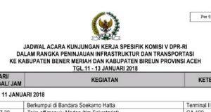 Komisi V DPR-RI Sambangi Bener Meriah dan Bireuen, Ada Apa?