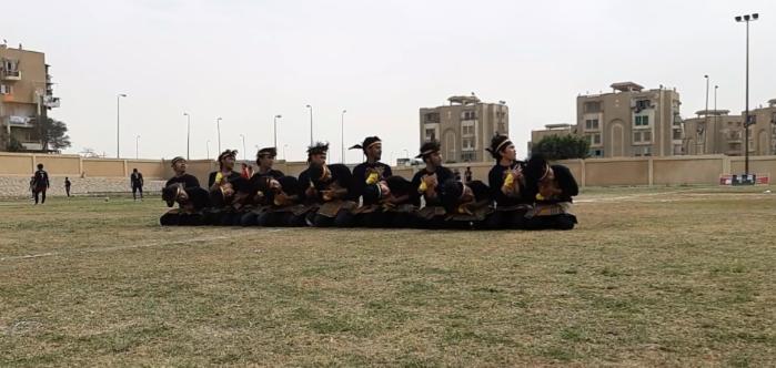 Pertama Kali, Saman Gayo Dimainkan di Mesir