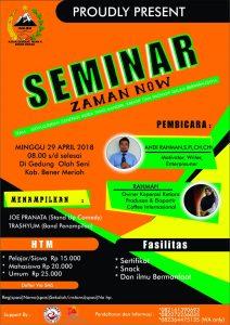Seminar Bisnis Bener Meriah