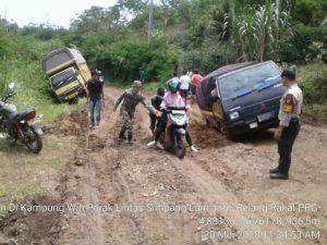 Kondisi jalan alternatif Simpang Lancang-Blang Rakal (Ist)