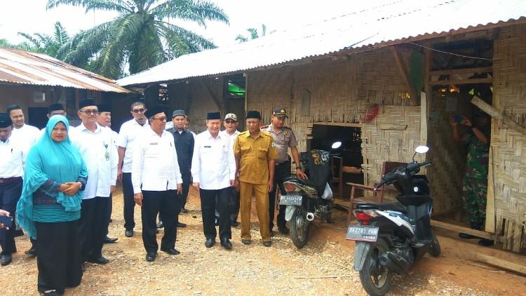 Kunjungan Kakanwil Kemanag Aceh ke MIS Al-Kautsar pada Januari 2017 (Ist)