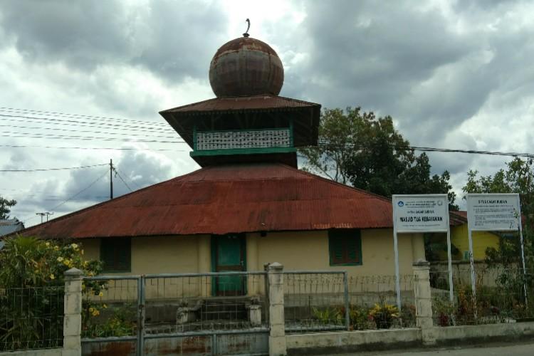 Masjid Tue Kebayakan beralih fungsi menjadi bukti sejarah dan cagar budaya (Foto : Zuhra Ruhmi)