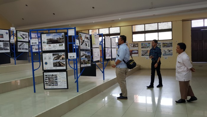 Pameran Sayembara Desain Arsitektur Kawasan Tugu Simpang Lima Takengon