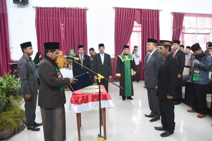 Abuya Sarkawi Lantik Dua Pejabat Eselon II