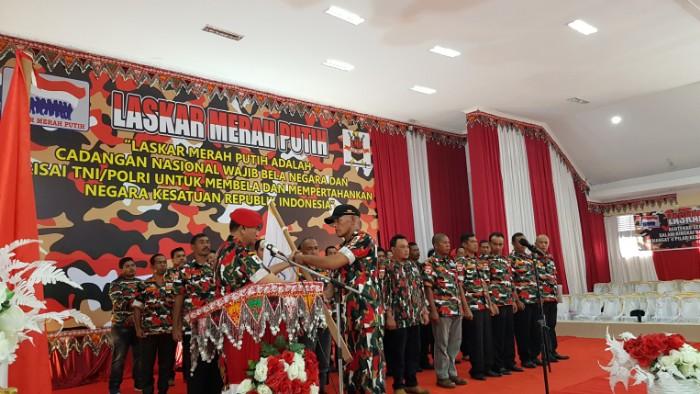 Pelantikan Pengurus Laskar Merah Putih Aceh Tengah