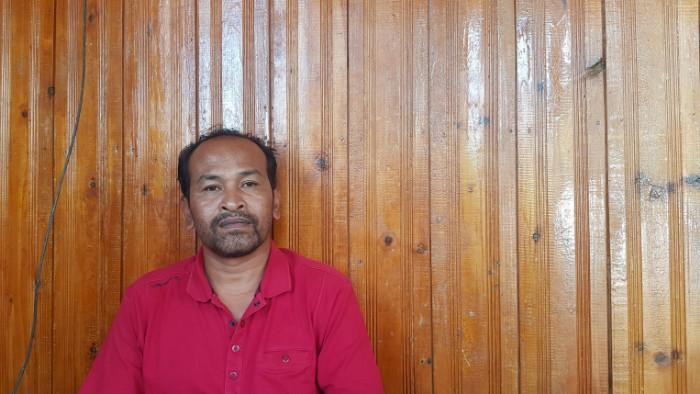 Ketua Harian PNA Aceh Tengah Agus Mutiara
