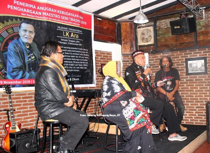 LK Ara, Salman, Onot Kemara, Gayo Award