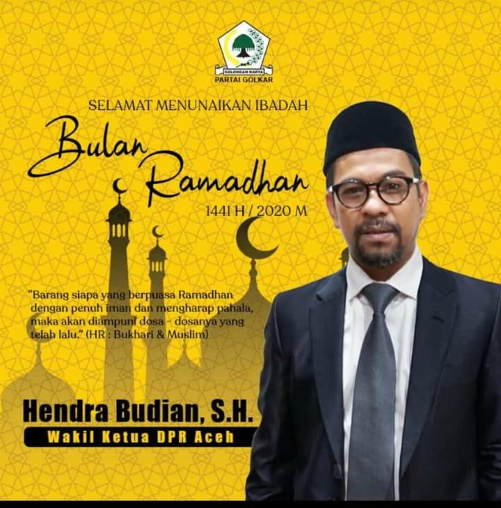 Ucapan Selamat ramadhan Hendra Budian