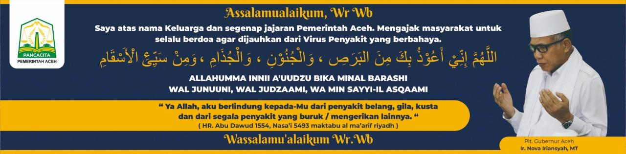 ucapan ramadhan gubernur aceh Nova Iriansyah